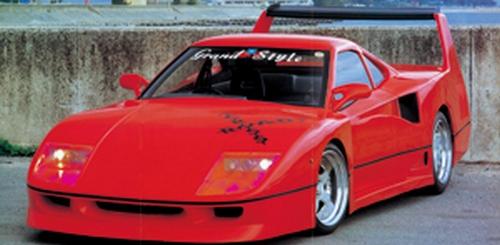 ポンティアックベース・フェラーリレプリカ&フェラーリF40レプリカの画像