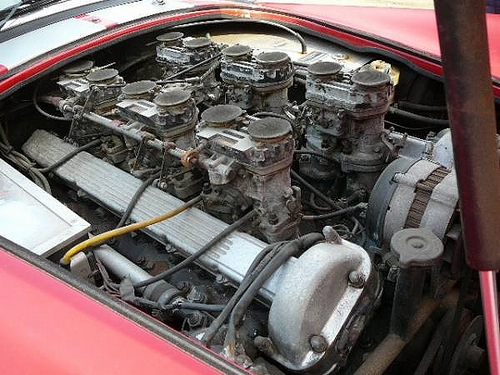 ACコブラレプリカ・12気筒エンジン搭載&ACコブラで回転動画