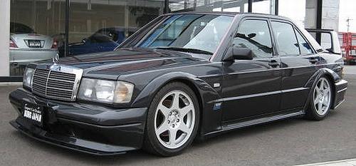 ホモロゲ限定車!メルセデスベンツ190EエボリューションⅡ&ベンツ・190Eエボ2の動画