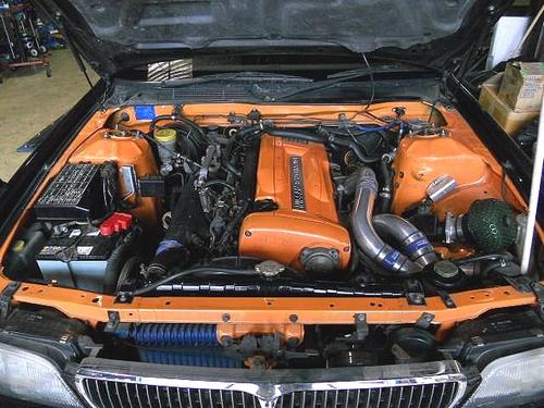 C34系ローレル・RB26エンジン公認&C34系ローレルのCM動画