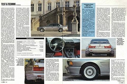 E32系BMW・750ILケーニッヒワイドボディ仕様)&007トゥモローネバーダイの動画