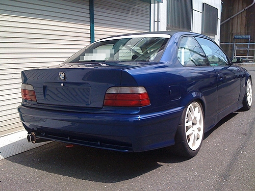 E36系BMW・318isサーキット仕様&E36系BMWによるヒルクライムの動画