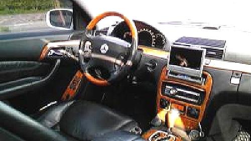 W220型ベンツSクラス・ベンツCL顔)&メルセデスベンツのCM動画