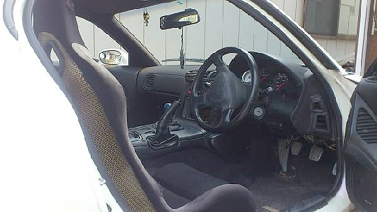 部品取り車FD3S型RX-7・雨宮ボディ&RE Amemiya blue FD3S動画