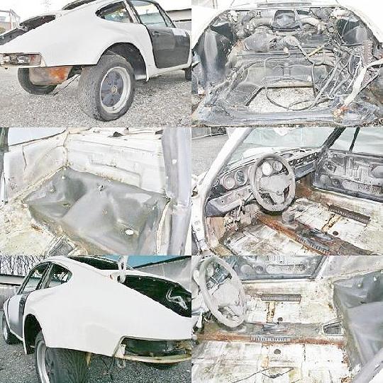 部品取り車ポルシェ911ナロー&73カレラRSの紹介動画