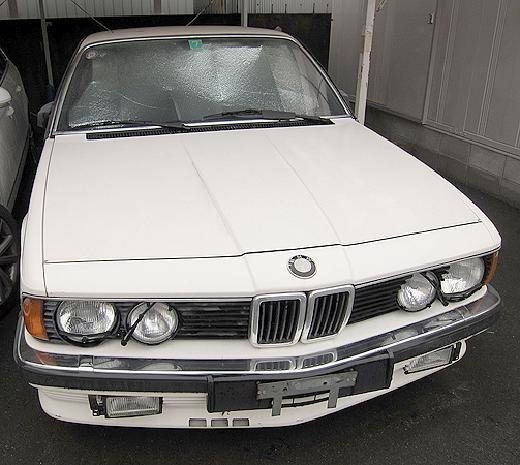 部品取り車!E24型BMW745i(635csi)&BMWシャークノーズミーティング動画