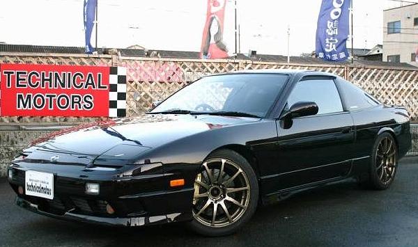 540馬力!湾岸最速仕様GT3037タービン!S13日産180SX&日本のストリートドリフト動画