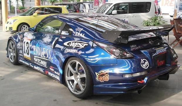 Zcarチャレンジ優勝マシンZ33系フェアレディZ&Zチャレンジのマシンコースイン動画