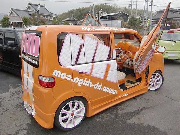 ショーカー仕様オレンジ!ホンダザッツ&NAT2012フェラーリパトカー仕様の動画