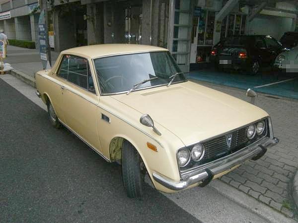 レア!RT55トヨタ1600GT(コロG)&トヨタ1600GT・GT4&GT5の動画
