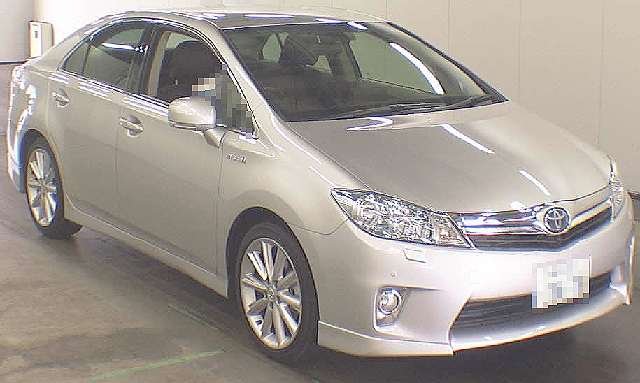 2012年3月トヨタSAI・GパーケージASパッケージのオークション落札相場