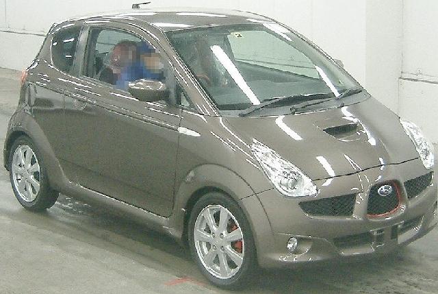 2012年3月スバル・R1アルカンターラのオークション落札相場