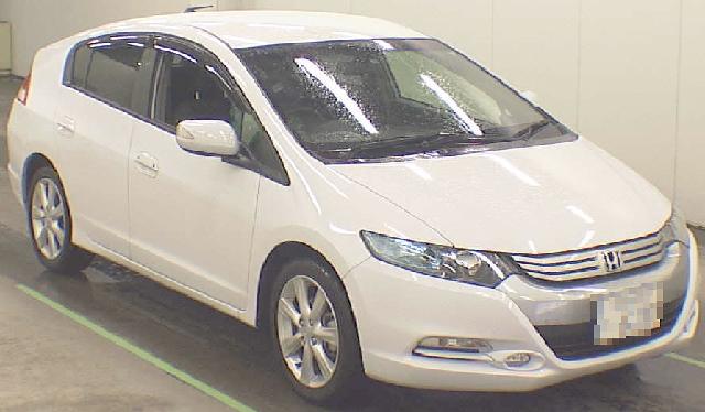 2012年4月ホンダ(ZE2型)インサイトのオークション落札相場