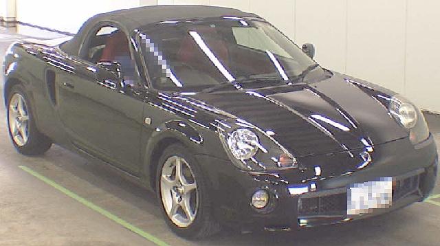 (2012年4月)トヨタMR-S(ZZW30型)のオークション落札相場