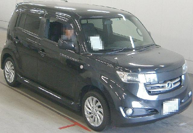 2012年4月トヨタBB(QNC21型)のオークション落札相場