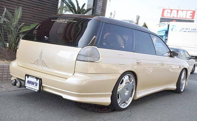 改造費300万円以上!BG5型レガシィツーリングワゴン&当時1996~1998年レガシイのCM動画