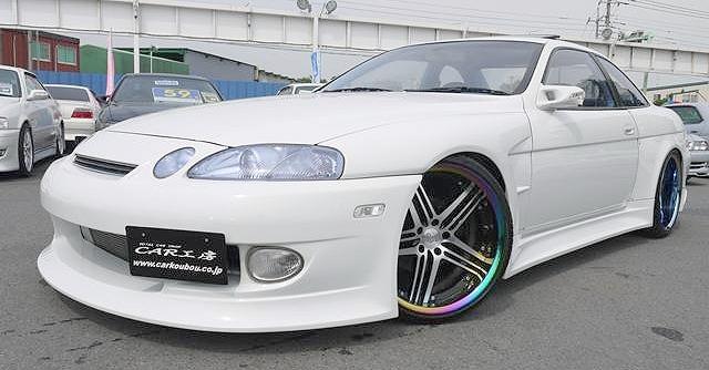 元ドリームクラブ痛車!T&E上野代表の元愛車!ワイドボディJZZ30ソアラ&T&E・D1GP仕様BMWの動画