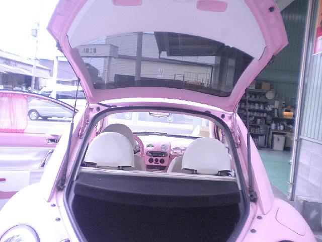 ピンク好き必見!オールピンク!ニュービートル&メーターがデコ仕様のディアブロ動画