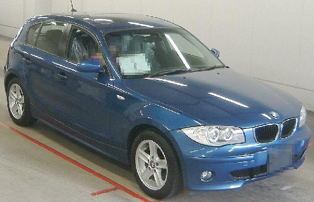 2012年4月BMW・120i(UF20系)のオークション落札相場