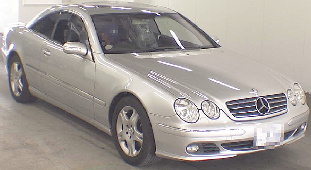 2012年4月メルセデスベンツCL500(C215型)のオークション落札相場