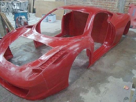 レプリカ!フェラーリ458イタリアキット)&458イタリアのレプリカ動画