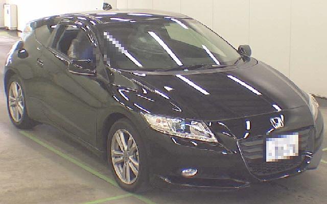 2012年5月6速マニュアルモデル・ホンダCR-Zアルファのオークション落札相場