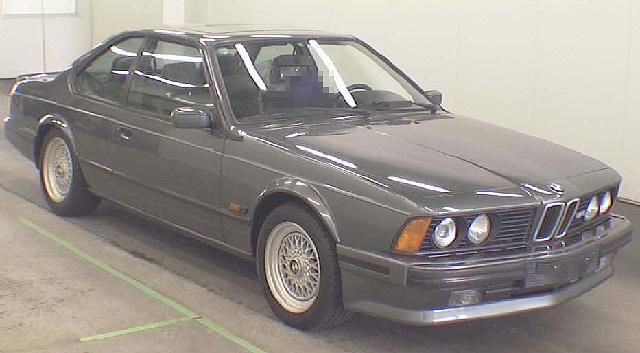 2012年5月E24型BMW・M6のオークション落札相場