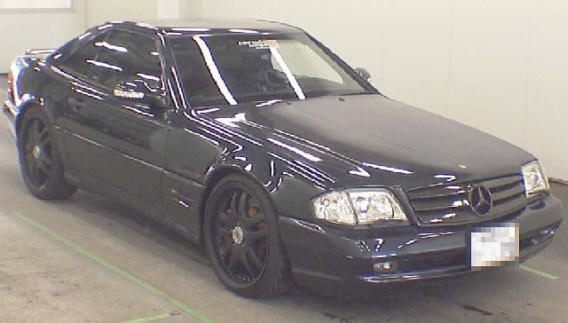 2012年5月ベンツSL600・AMG7.0のオークション落札相場