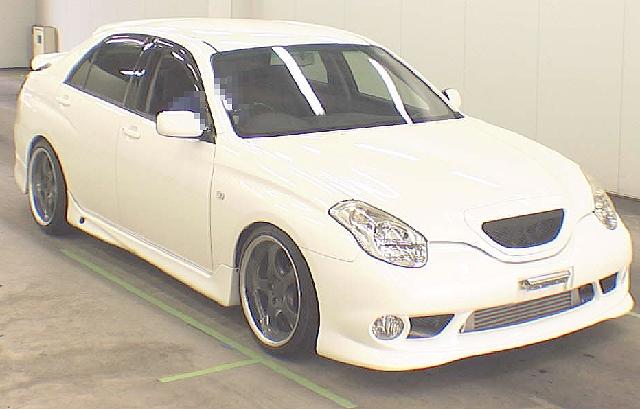 2012年5月純正5速マニュアル・ヴェロッサVR25のオークション落札相場