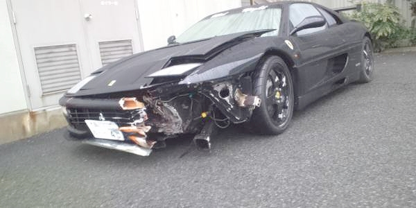 部品取り車・改造費1300万円以上フェラーリF355チャレンジ&諸星さんのディブロによるブリッピングサウンド動画