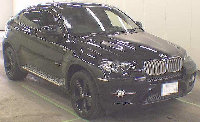 2012年6月BMW・X6・35i(FG30型)のオークション落札相場
