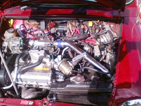 F6Aエンジン搭載ローバーミニ&ハヤブサエンジン換装オースチンミニの動画