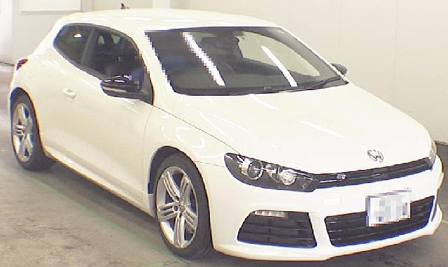 2012年7月VW・フォルクスワーゲン・シロッコRのオークション落札相場