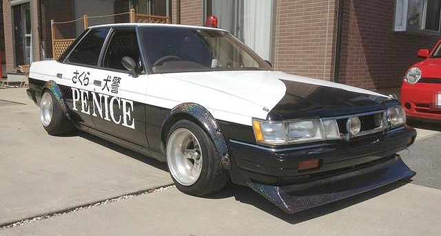 街道レーサー警察カラー仕様GX71マーク220120915_2