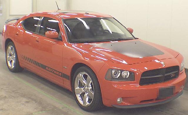 2012年7月限定車ダッジチャージャー・デイトナスペシャル・エディションのオークション落札相場