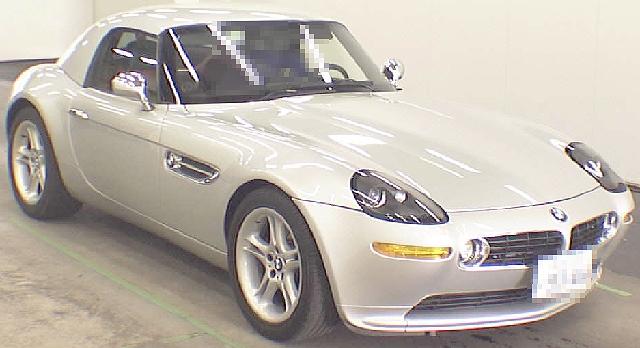 (2012年7月)ボンドカー!EJ50型BMW・Z8のオークション落札相場