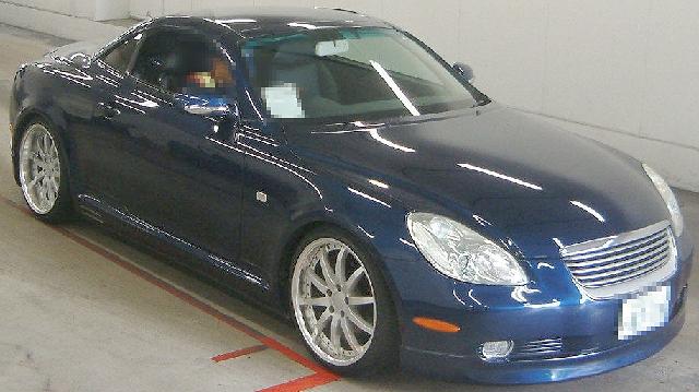 2012年7月UZZ40型ソアラ430SCVのオークション落札相場
