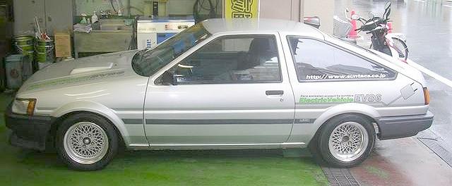 電気自動車化EV86スプリンタートレノ(AE86型)20120924_7