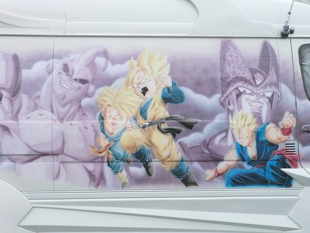 ドラゴンボール仕様100系ハイエース20120925_6