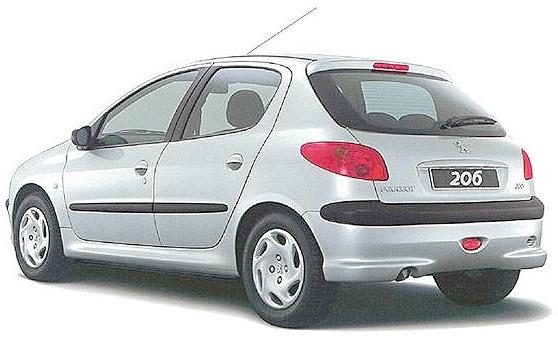 プジョー206元2004年モデル20120929_2