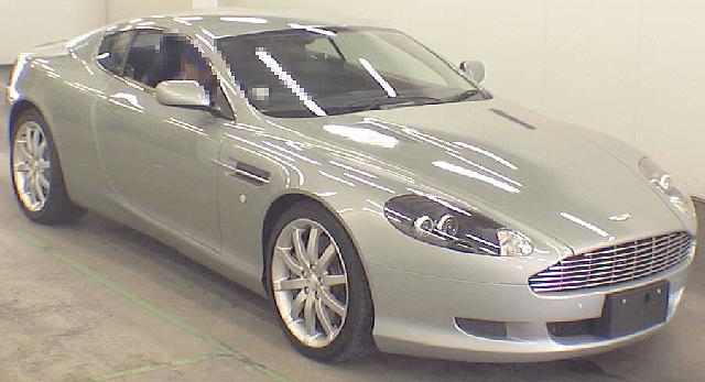 2012年8月アストンマーチン・DB9のオークション落札相場