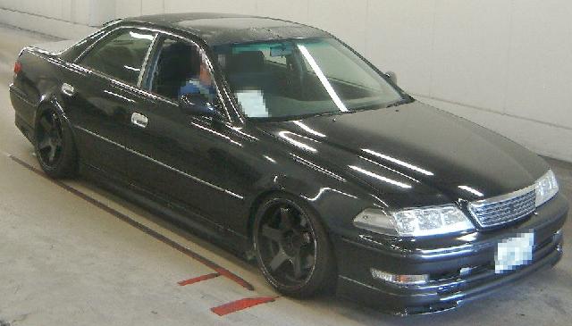 2012年8月5速マニュアル・JZX100型マーク2ツアラーVのオークション落札相場