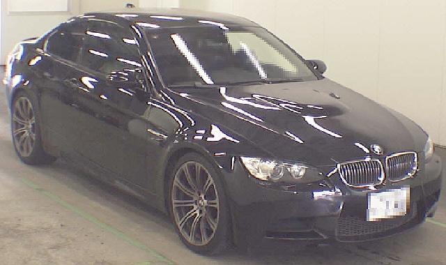 2012年8月BMW・M3(E92型)のオークション落札相場