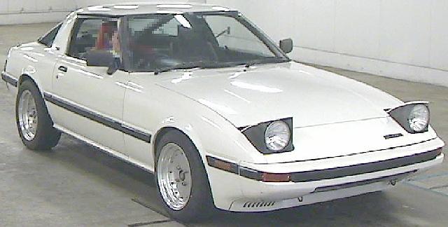 2012年8月マツダ・サバンナRX-7(SA22C型)GT-Xのオークション落札相場
