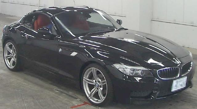 2012年8月2代目BMW・Z4・sDRIVE・23i・Mスポーツハイラインのオークション落札相場