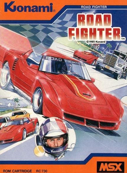 部品取り車ワイドボディ化コルベット(C3型)&レトロゲー!コナミ・ロードファイターのプレイ動画
