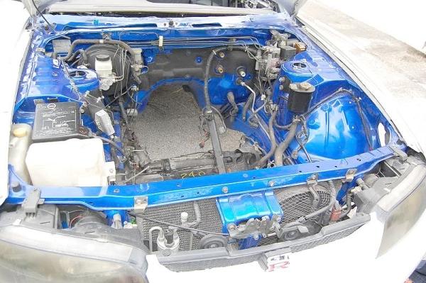 R33スカイラインGTR顔S14型240SX(シルビア)20121108_3