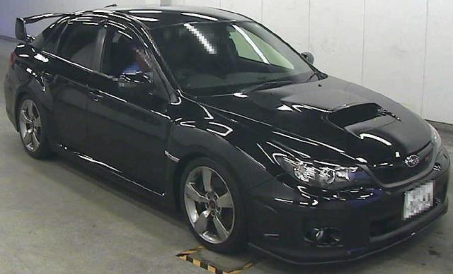 2012年9月(GVB型モデル)インプレッサWRX・STIのオークション落札相場