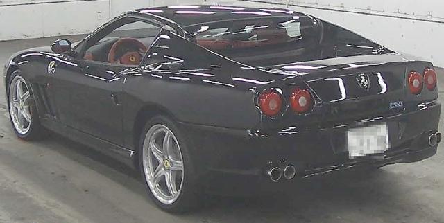 (海外)部品取り車4代目マスタングGTコンバチベース・ベンツSL500レプリカ(R129)&フェラーリ575スーパーアメリカの出品