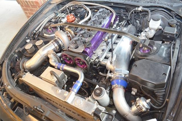 ドラッグ仕様2JZエンジン搭載レクサスSC40020121113_3
